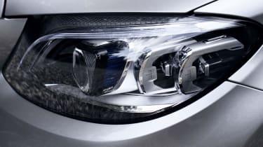 Mercedes C-Class Estate headlights