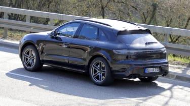 2021 Porsche Macan SUV rear 3/4