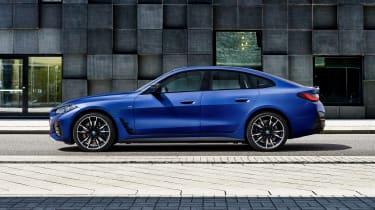 2021 BMW i4 M50 - side view