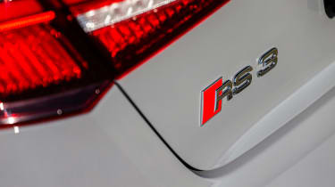 Audi RS3 rear badge