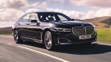 BMW 7 Series saloon - front 3/4 dynamic