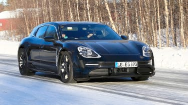 Porsche Taycan Sport Turismo front