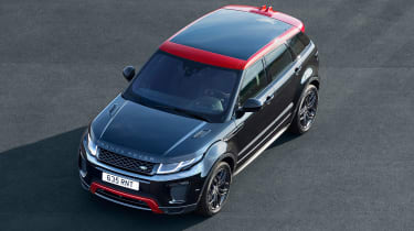 The 2017 Evoque gets a better infotainment system too: InControl Touch Pro