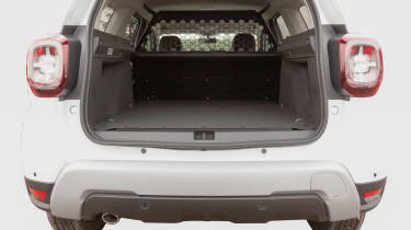 Dacia Duster Commercial load space