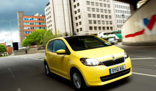 Skoda Citygo UK Launch.Birmingham..15th May 2012.Images copyright Malcolm Griffiths..
