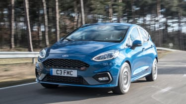 The new Ford Fiesta ST features a turbocharged 1.5-litre three-cylinder engine