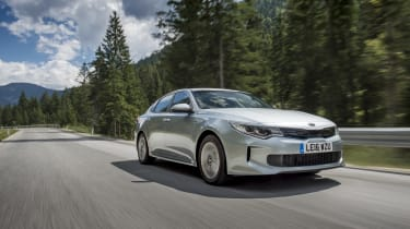 It's a rival to models including the Ford Mondeo Hybrid, Volkswagen Passat GTE and BMW 330e iPerformance