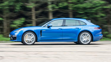 Not only are you paying for the Porsche badge, but the Panamera Sport Turismo ranges from quick to supercar-fast