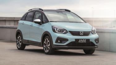 2020 Honda Jazz Crosstar - front 3/4 view