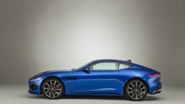 2020 Jaguar F-Type left side view