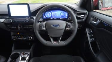 Ford Focus ST hatchback interior