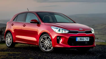 The Kia Rio is a practical and affordable supermini with a long seven-year/100,000-mile warranty