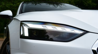 Audi A5 Coupe headlights