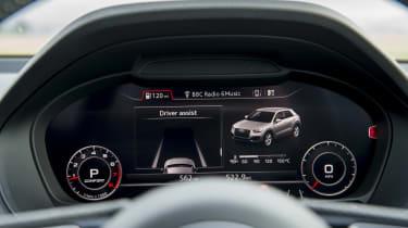 Audi Virtual Cockpit - driver assistance screen