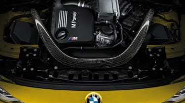 BMW M4 coupe 2014 engine