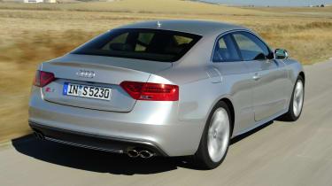 Audi S5 Coupe - rear 3/4 dynamic