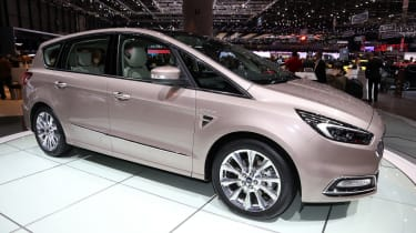 The seven-seater Ford S-MAX Vignale is for larger families who like the finer things in life
