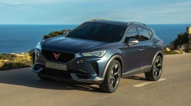 2020 Cupra Formentor SUV  - front quarter
