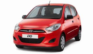 Hyundai i10 2013 front quarter