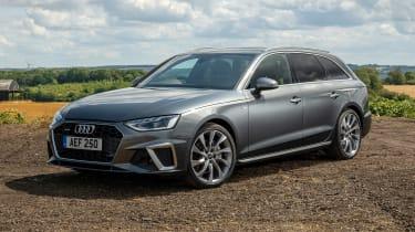 Audi A4 Avant estate front 3/4 static
