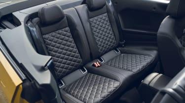 Volkswagen T-Roc Cabriolet rear seats