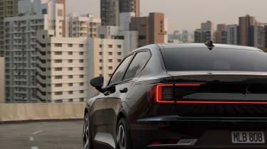 2020 Polestar 2 - Dynamic rear 3/4 view