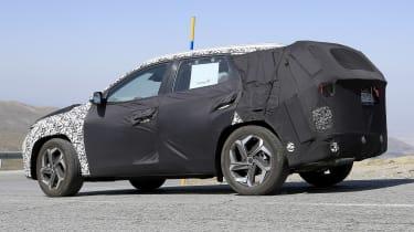 Hyundai Tucson development mule