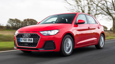 Audi A1 2019 front tracking