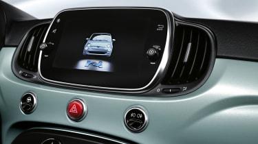 Fiat 500 mild hybrid touchscreen