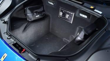 Ferrari 488 Spider convertible luggage compartment