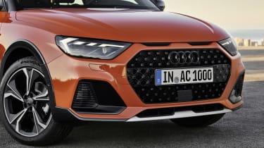 Audi A1 Citycarver front end details