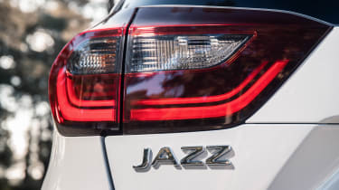 Honda Jazz hatchback rear badge