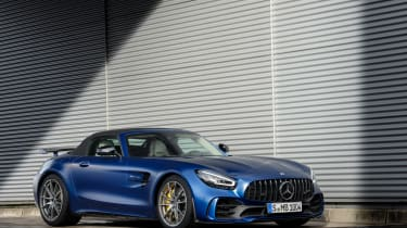 Mercedes-AMG GT R Roadster static roof up
