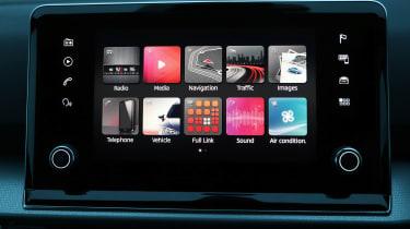 SEAT Tarraco SUV infotainment