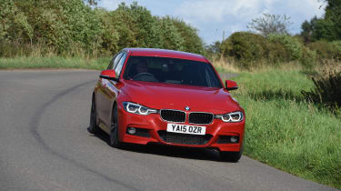 However, it's in the corners where the BMW 3 Series really excels