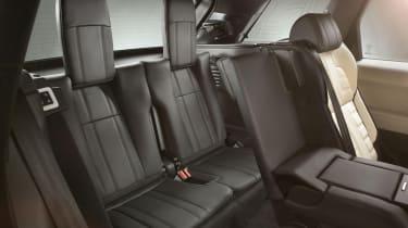 Range Rover Sport 2013 back seats