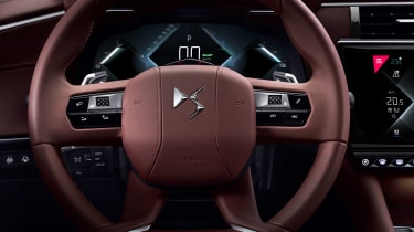 2021 DS 9 saloon - steering wheel