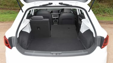 2017 SEAT Leon - boot space