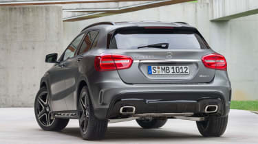 Mercedes GLA 2014 rear quarter static