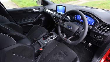 Ford Focus ST hatchback steering wheel