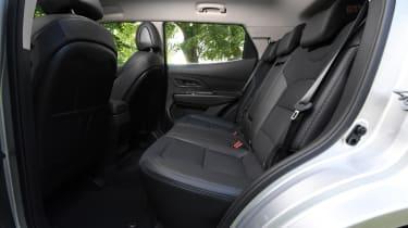 SsangYong Korando SUV rear seats