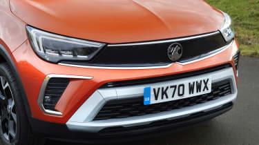 2021 Vauxhall Crossland SUV - front close up