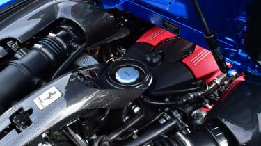 Ferrari 488 Spider convertible engine
