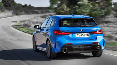 2019 BMW 1 Series M135i xDrive rear close up
