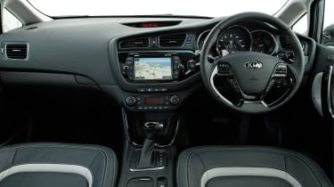 Interior quality is generally decent, even if the dashboard design is fairly conservative