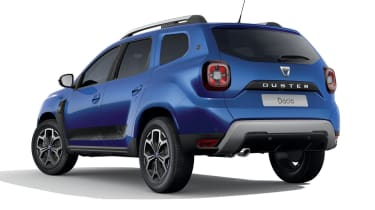 Dacia Duster SE Twenty rear 3/4 view