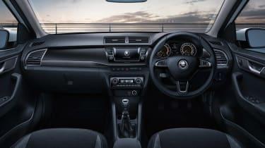 Skoda Fabia SE Drive interior