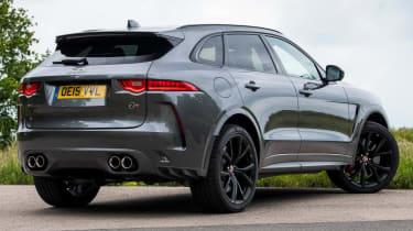 Jaguar F-Pace SVR - rear 3/4 static