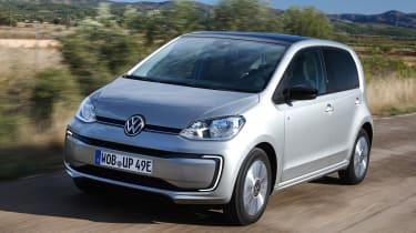 2019 Volkswagen e-up! hatchback - dynamic front 3/4