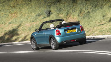 Despite lacking a roof, the MINI Convertible still has the sharp handling the hatch is famous for
